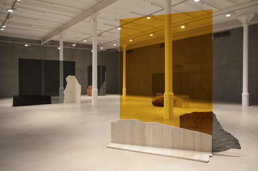 Vista de la exposición de José Dávila en la Blueproject Foundation de Barcelona.