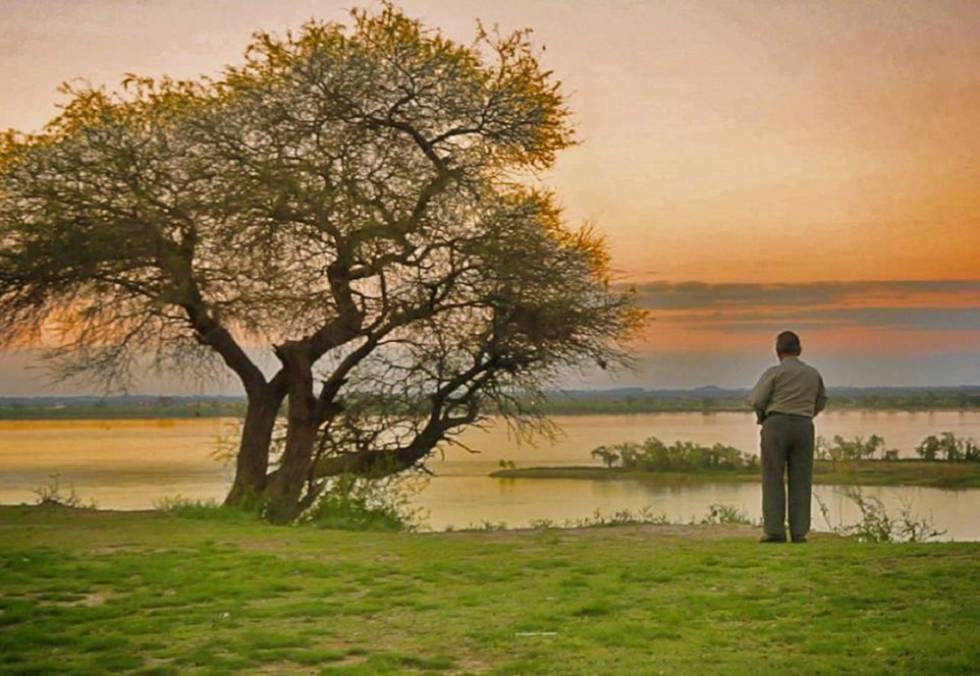 Blas Jaime, a orillas del río Uruguay.