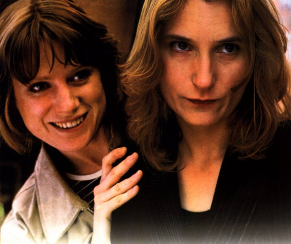 Lynda Steadman y Katrin Cartlidge, en 'Dos chicas de hoy', de Mike Leigh.