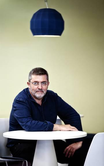 El periodista Mario Tascón, la pasada semana en Madrid.