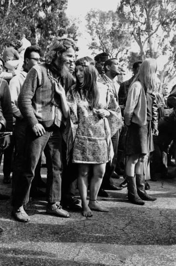 Asistentes a un concierto en San Francisco en agosto de 1967.