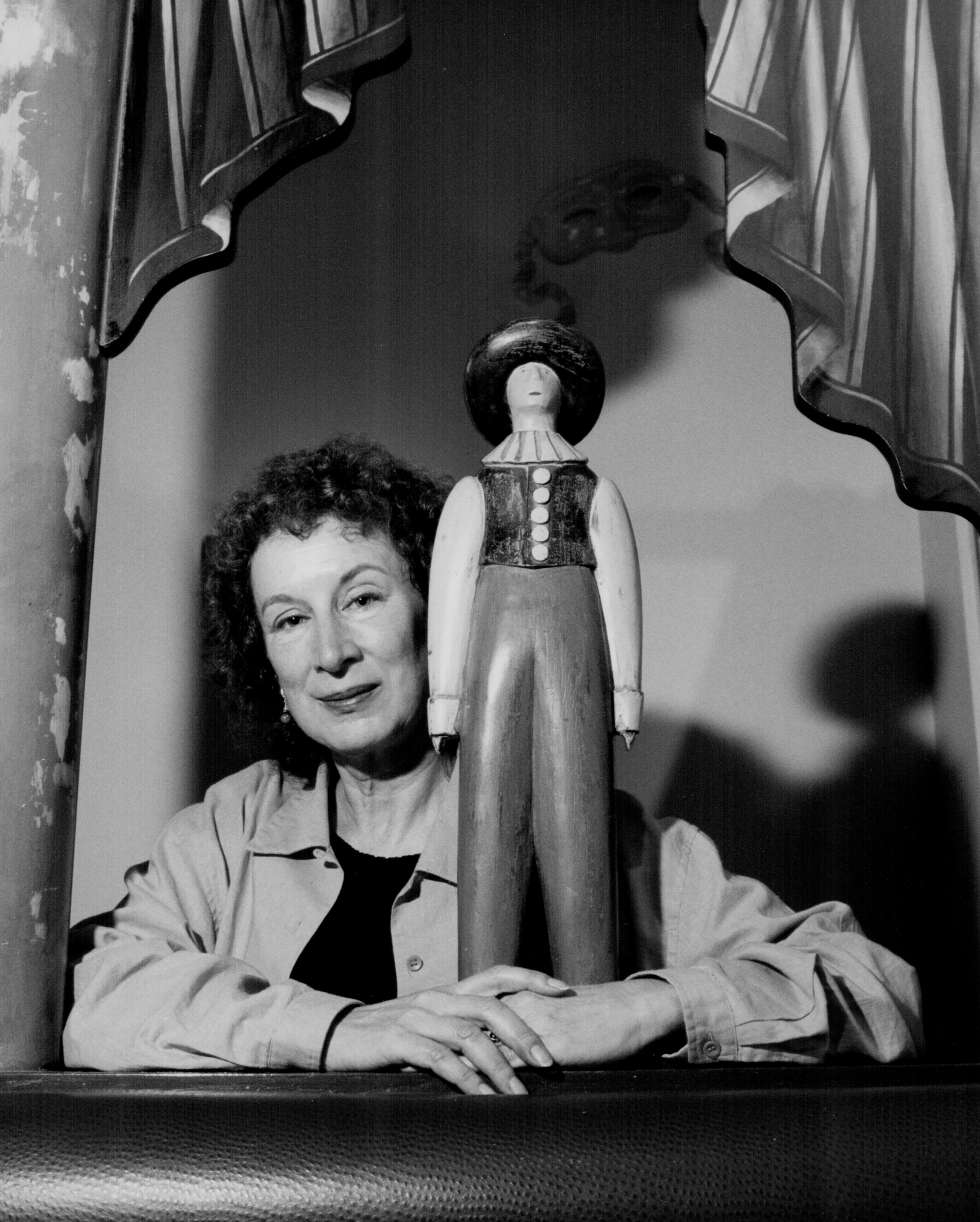 Margaret Atwood, en 1989.