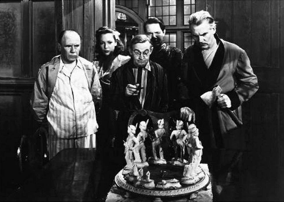 Fotograma de la película 'Diez negritos', de René Clair.