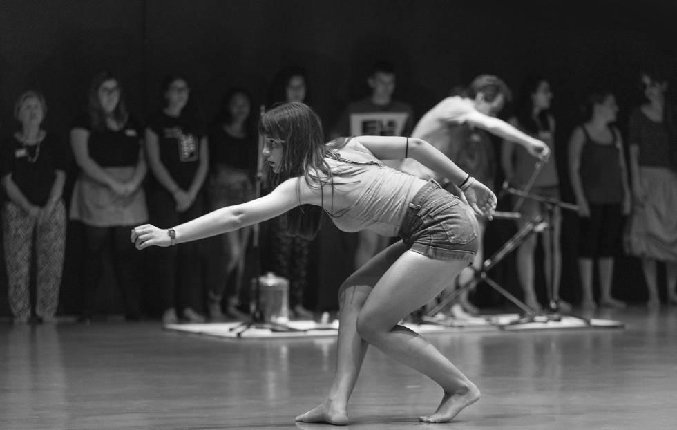 Actividad de danza y movimiento.