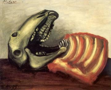 'Naturaleza muerta con cráneo de oveja' (1939), de Picasso.