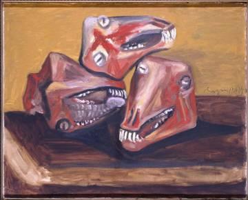 'Tres cabezas de cordero' (1939), de Picasso.