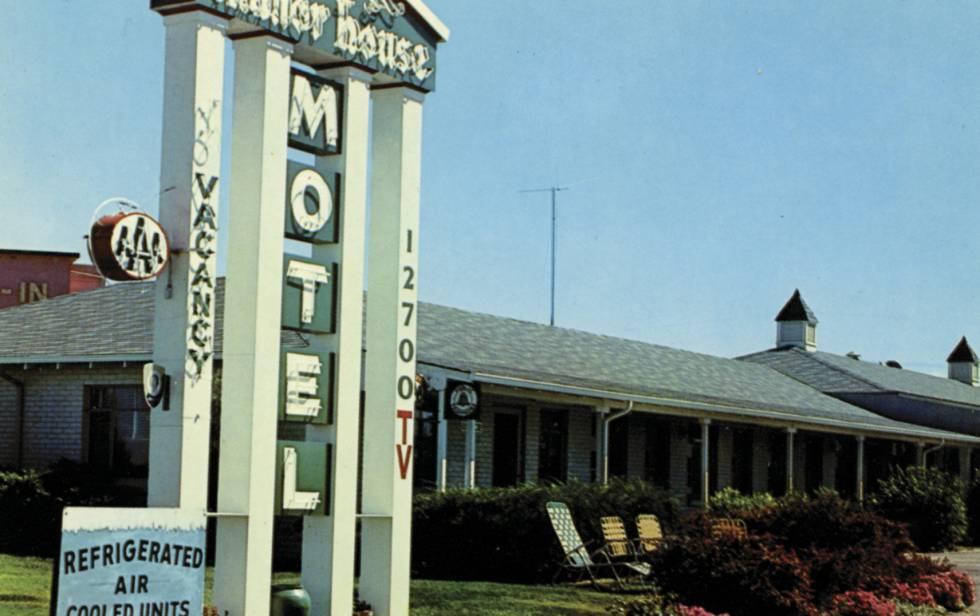 El motel Manor House, donde ha realizado uno de sus últimos reportajes el escritor Gay Talese.