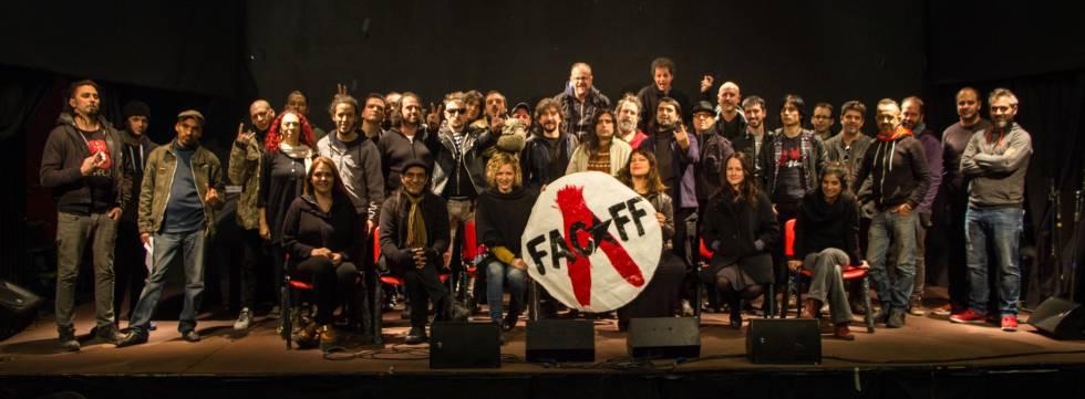 Los participantes del FACAFF.