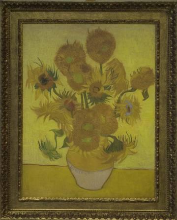 'Los girasoles' ( 1889), en la versión de la serie que posee el museo Van Gogh Museum de Ámsterdam.
