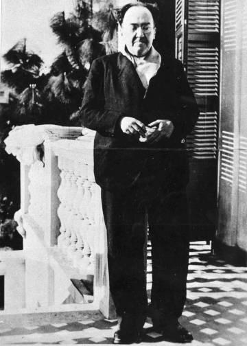 Última foto de Antonio Machado, tomada en su exilio francés de Colliure.