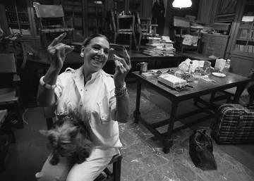 Nati Mistral, las imágenes de la actriz y cantante madrileña