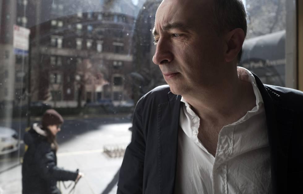 El crítico británico James Wood en Park Avenue (Nueva York) el pasado marzo.