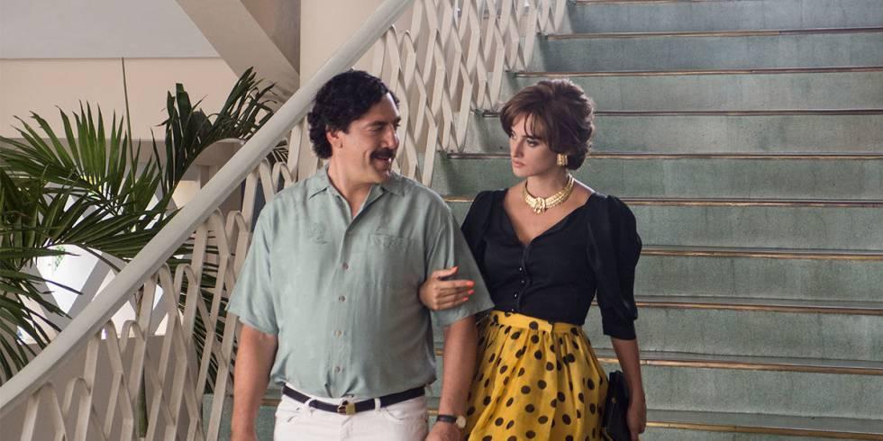 Fotograma de 'Loving Pablo, Hating Escobar', con Javier Bardem y Penélope Cruz.