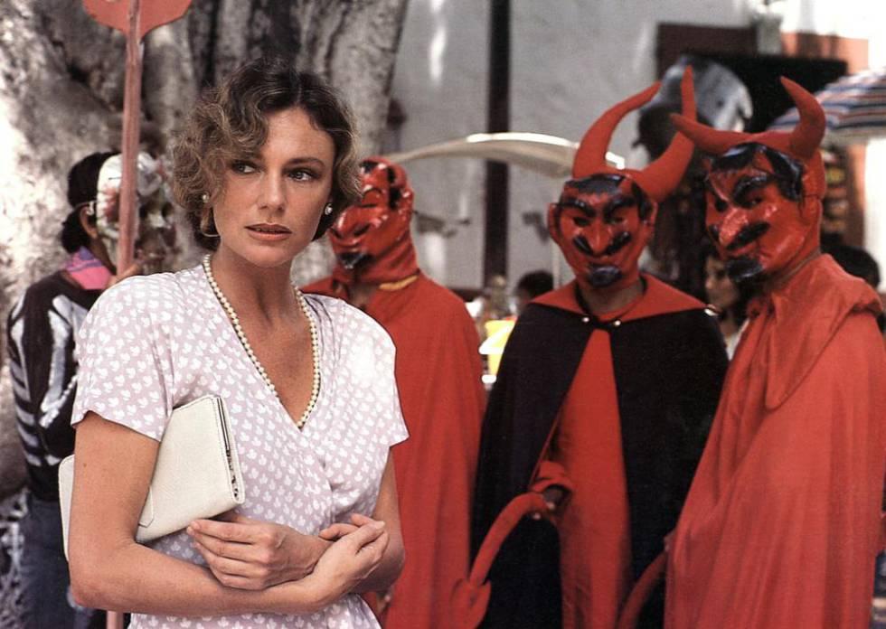 Jacqueline Bisset en 'Under the Volcano', de 1984.