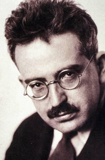 El escritor Walter Benjamin.
