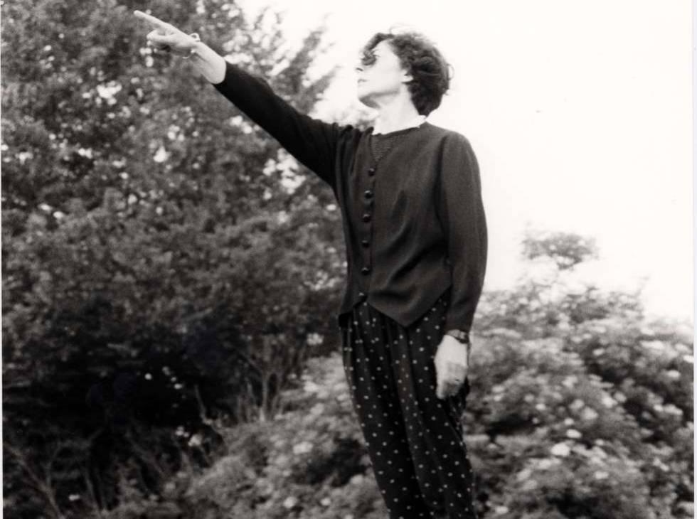 Esther Ferrer. Al ritmo del tiempo (1988).