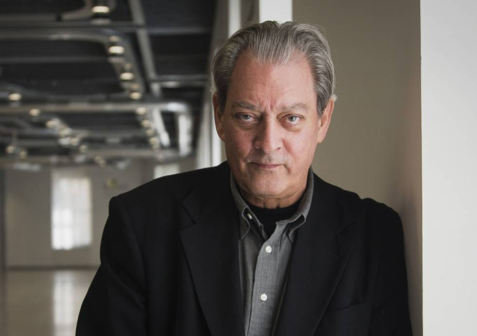 US author Paul Auster, in Madrid.