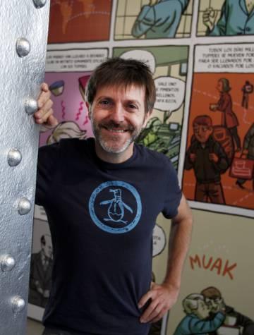 El dibujante y guionista Paco Roca.