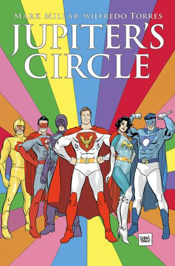 Portada del cómic del Millarworld Jupiter's Circle.