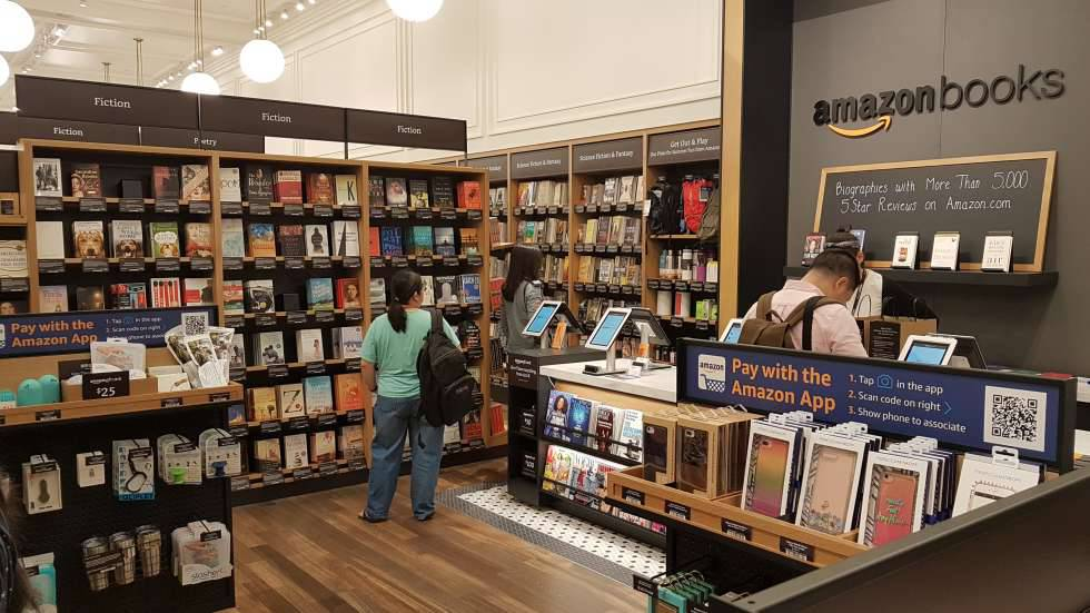Librería de Amazon en Manhattan.