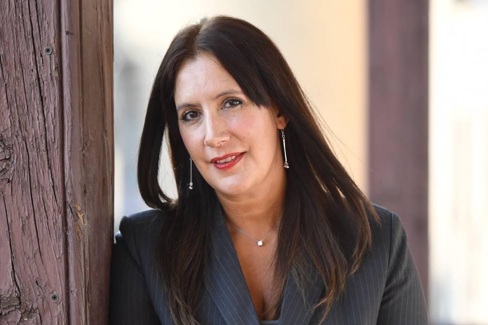 Dolores Redondo, en el Hay Festival de Segovia.