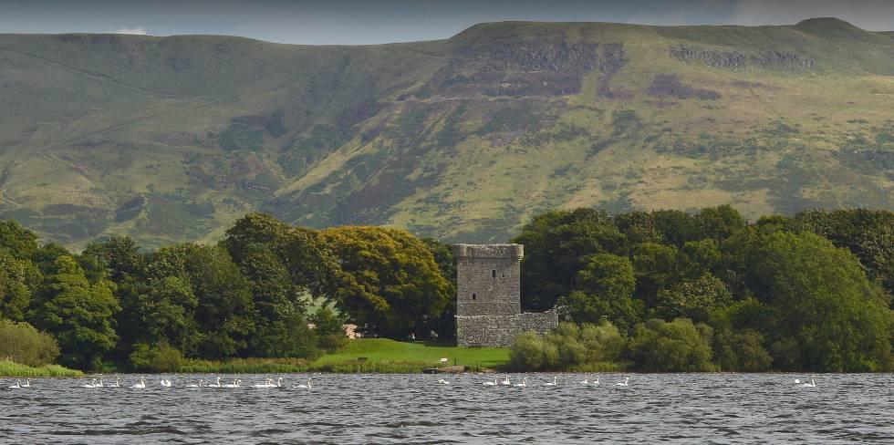 El Castillo del Lago Leven (Escocia), donde María Estuardo estuvo presa, este agosto.