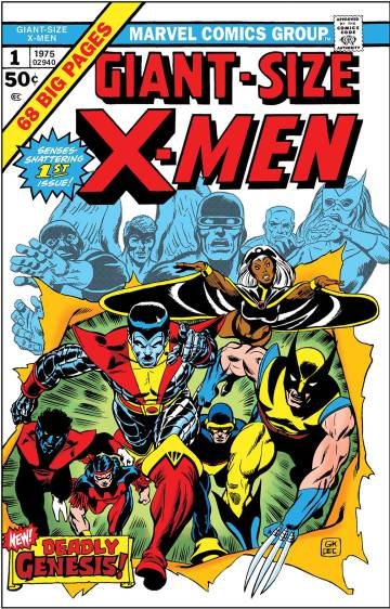 Portada de 'Giant-size X-men'.