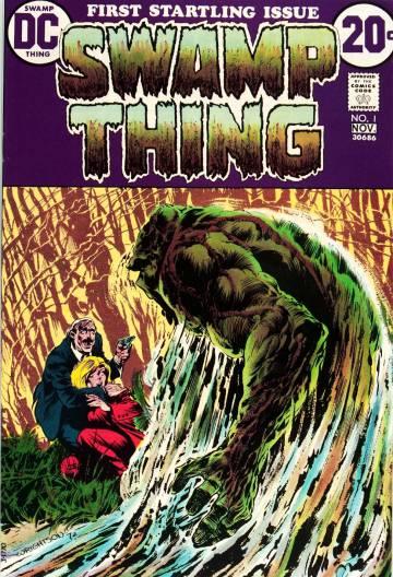 Primer cómic de 'La cosa del pantano'.