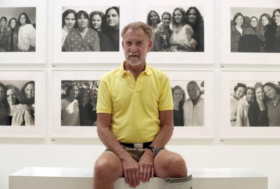 El fotógrafo estadounidense Nicholas Nixon en la Fundación Mapfre.