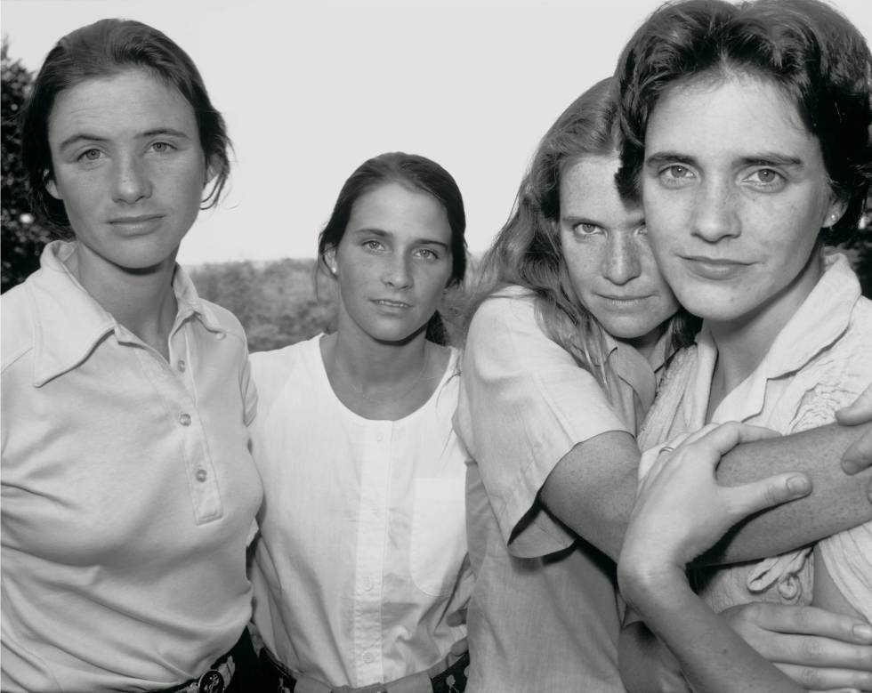 'Las hermanas Brown' en 1980.