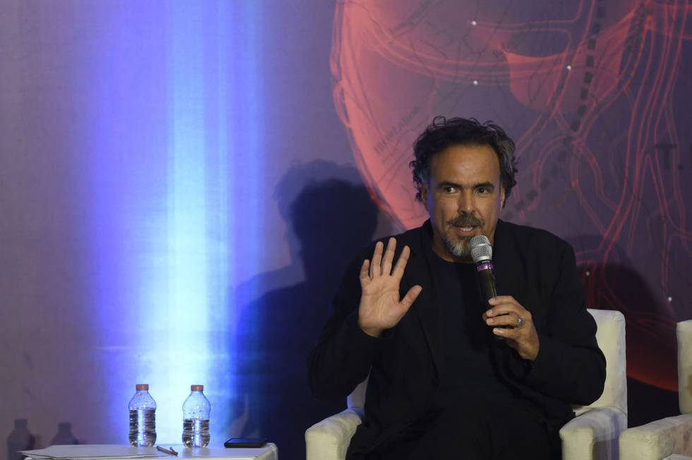 Alejandro González Iñárritu en la Ciudad de México.