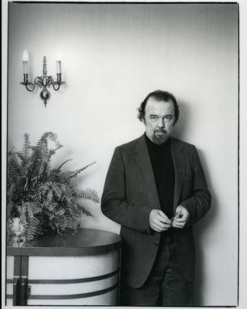 El director de teatro Peter Hall en 1980.