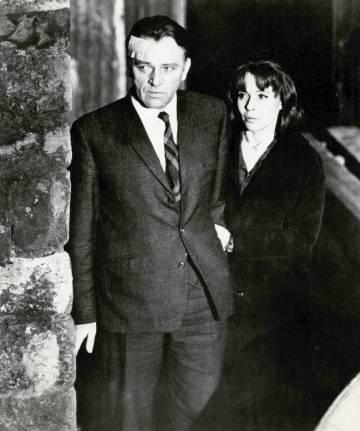 Richard Burton y Claire Bloom, en 'El espía que surgió del frío'.