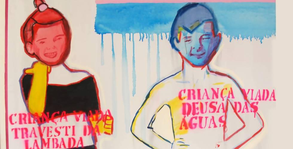 'Travesti de lambada e deusa das águas', de Bia Leite, 2013.