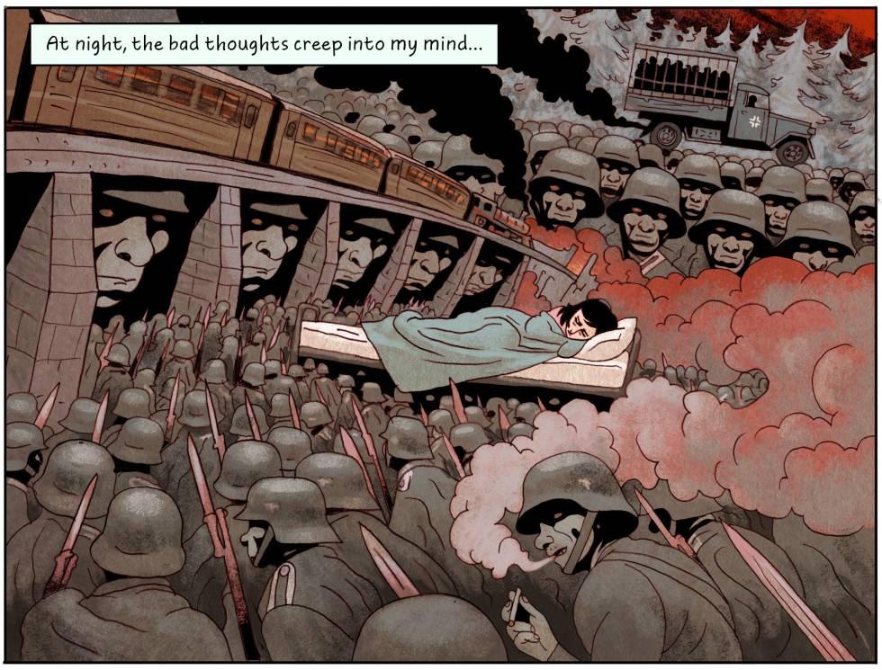 El diario dibujado de Ana Frank