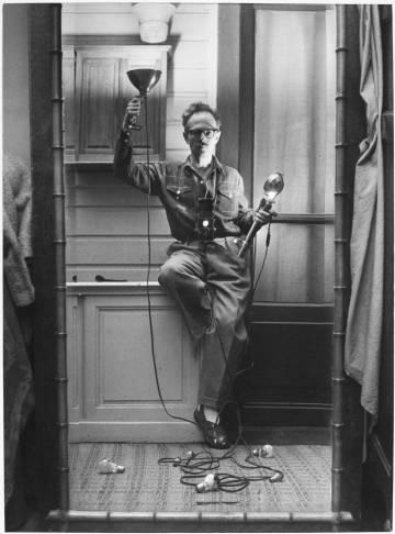Autorretrato con flash, París, 1951