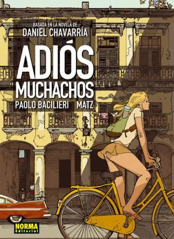 Portada de la adaptación al tebeo de 'Adiós muchachos' de Daniel Chavarría por Matz.
