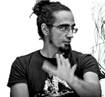 El artista Alberto Ponticelli.