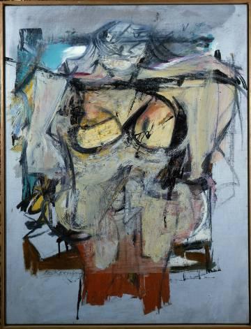 'Mujer-Ocre' (1957-1959), de Willem de Kooning.