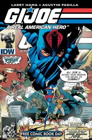 Una portada del 'G.I. Joe' guionizado por Larry Hama.
