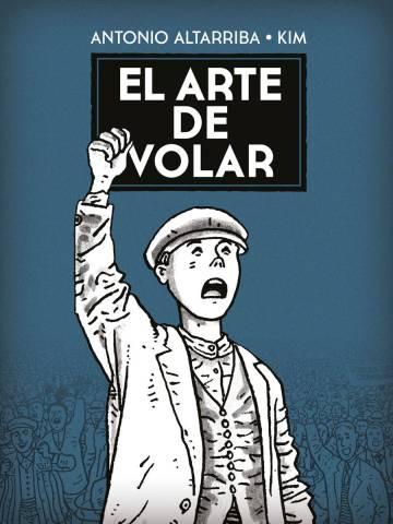 Portada del tebeo español 'El arte de volar'.