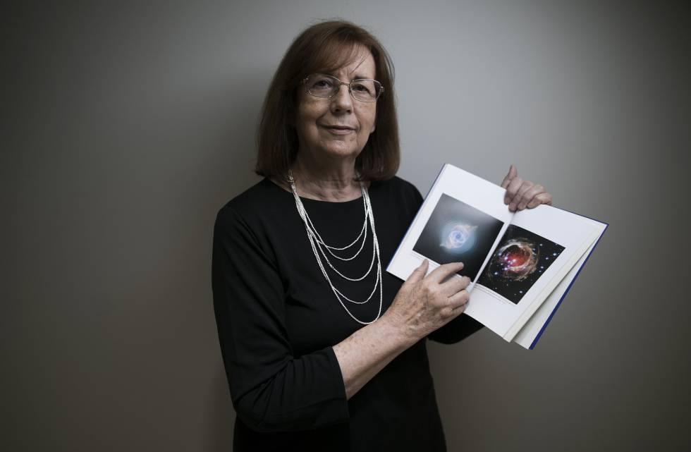 La astrónoma María Teresa Ruiz ayer en Madrid.