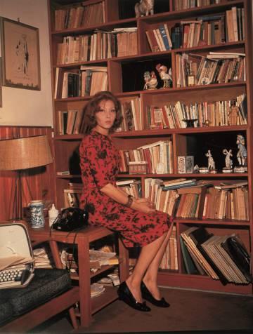 La escritora Clarice Lispector.