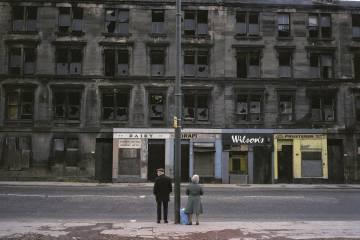Glasgow, Escocia, 1980