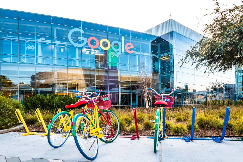 Sede central de Google en California.