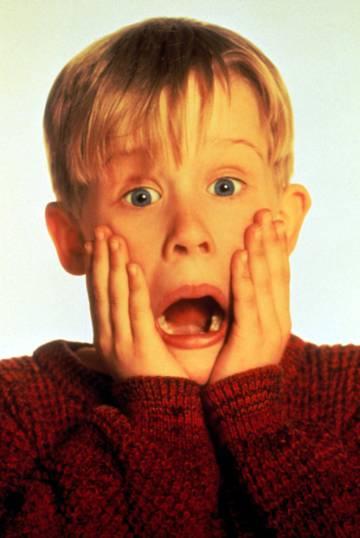 Macaulay Culkin, en una imagen de 'Solo en casa'.
