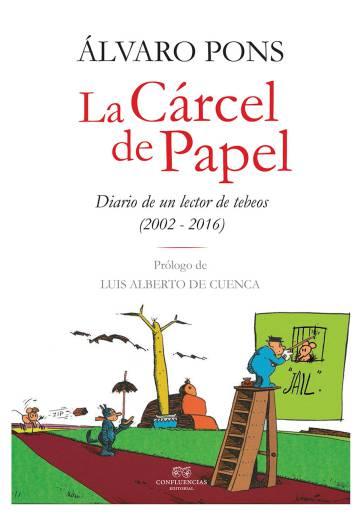 Portada de 'La cárcel de papel', de Álvaro Pons.