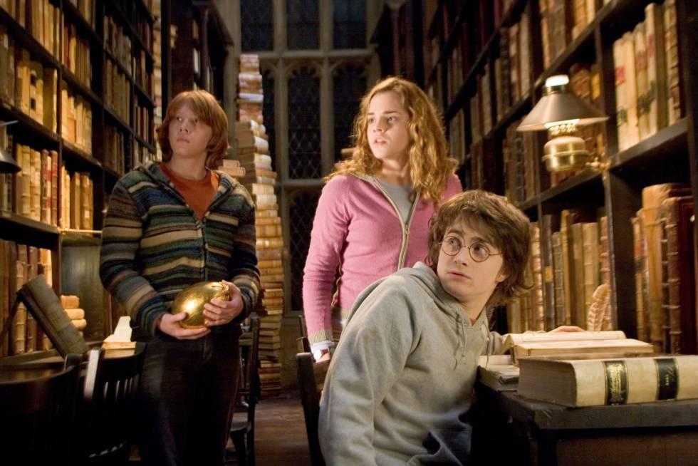 Fotograma de 'Harry Potter y el cáliz de fuego' (2005).