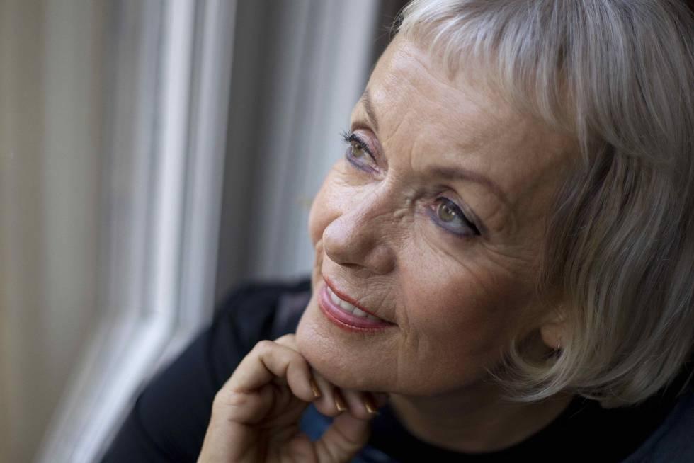 La escritora checa Monika Zgustova en 2016.