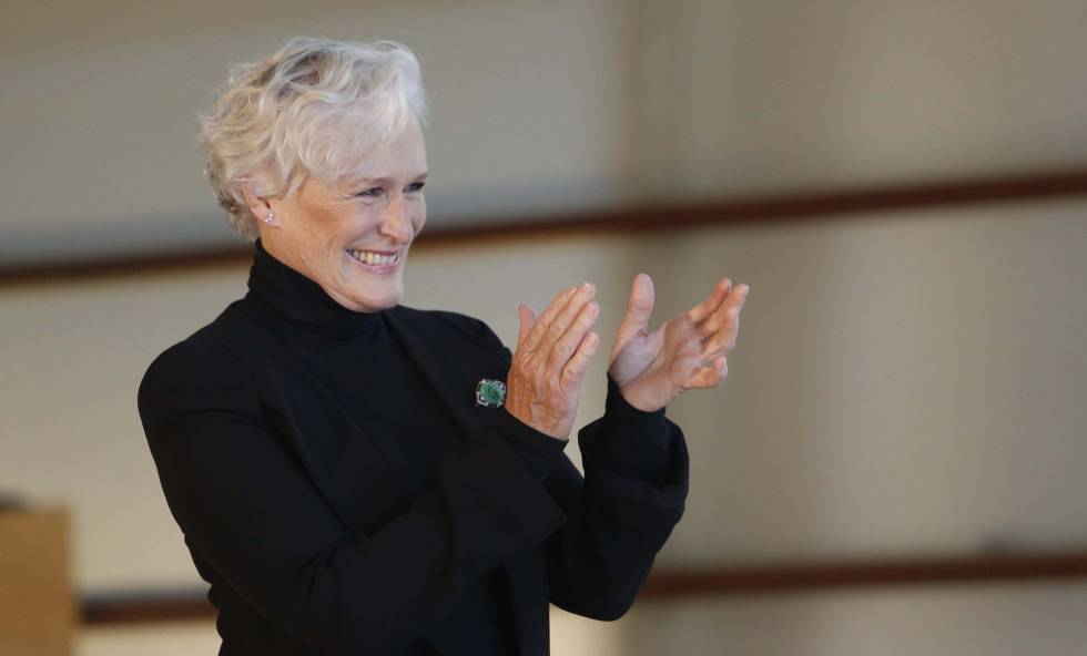 Glenn Close, en San Sebastián. rn